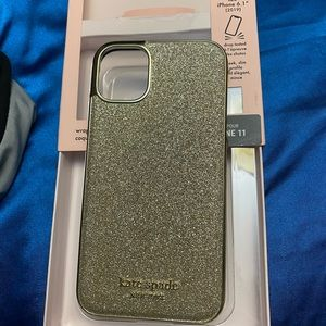 Kate spade iPhone 11 case, never used